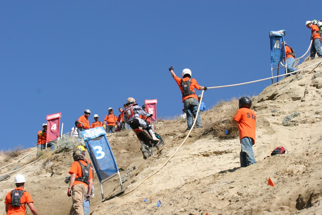 Volunteer At Big Nasty Hill Climb